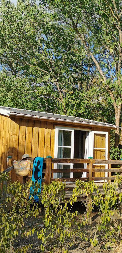 The campsite rentals