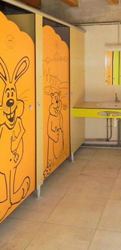Le bloc sanitaire - espace enfants