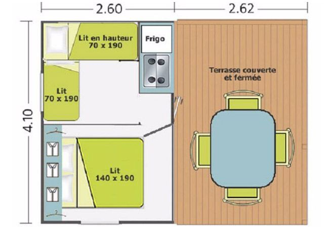 Atypique Tit'home 4/5 people